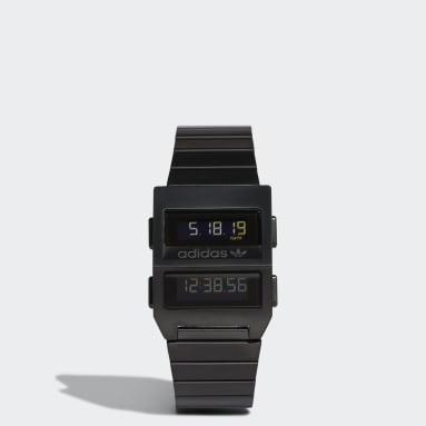 Originals zwart Archive_M3 Horloge