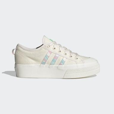 Kvinder Originals Hvid Nizza Platform sko