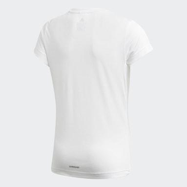 T-shirt UP2MV AEROREADY Blanc Filles Studio