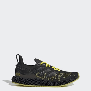 Men Running Black X9000 4D Cyberpunk 2077 Shoes