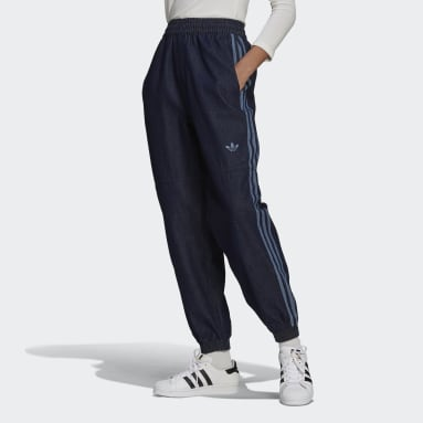 Women Originals Blue Denim Japona Track Pants