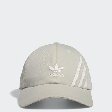 Men's Originals Beige Relaxed SST Strap-Back Hat