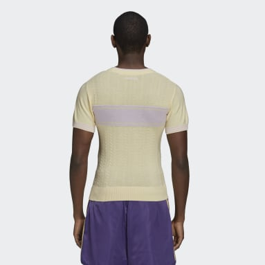 Men's Originals Yellow Wales Bonner Knit Tee