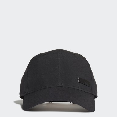 Cricket Black Lightweight Metal Badge Baseball Cap