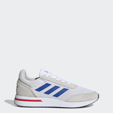 Men Sport Inspired White Run 70s Shoes