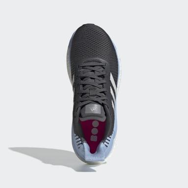 Zapatillas Solar Glide ST 19 Gris Mujer Running