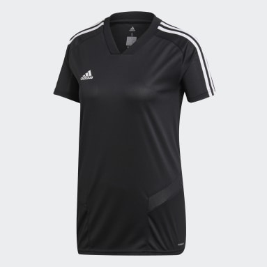 Women Soccer Black Tiro 19 Training Jersey