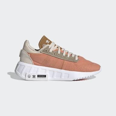 Kvinder Originals Orange Geodiver Primeblue sko