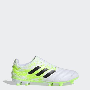 Zapatos de Fútbol Copa 20.3 Terreno Firme Blanco Hombre Fútbol