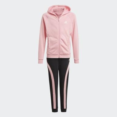 Mädchen Fitness & Training Bold Hooded Trainingsanzug Rosa