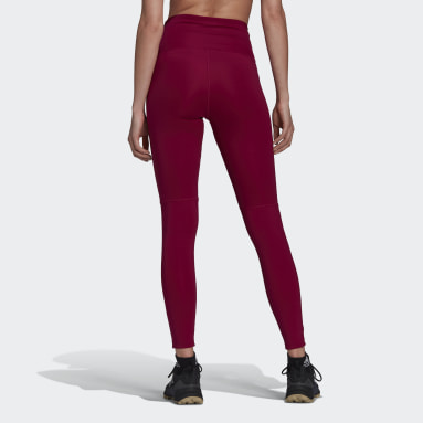 Women TERREX Burgundy Terrex Multi Primeblue Leggings