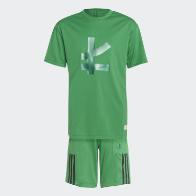 Kids Lifestyle Green adidas x LEGO® NINJAGO® Lloyd Set