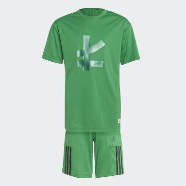 зеленый Комплект: футболка и шорты LEGO® Ninjago Lloyd