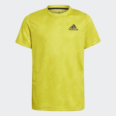 Jongens Tennis Geel HEAT.RDY Primeblue Tennis Freelift T-shirt