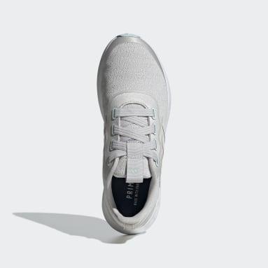 Women's Lifestyle Grey QT Racer Sport Shoes