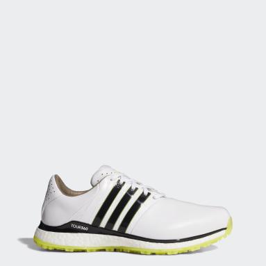 Originals White TOUR360 XT-SL Spikeless 2.0 Wide Golf Shoes