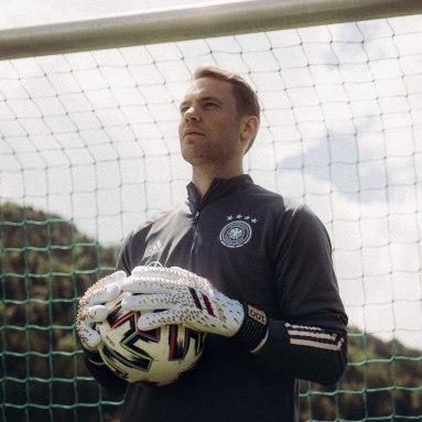 Football White Predator Pro Manuel Neuer Goalkeeper Gloves