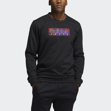 Men's Basketball Black MIC Graphic Crew Sweatshirt