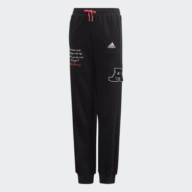 Pantalón Collegiate Negro Niña Sportswear
