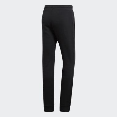 Men Originals Black Trefoil Essentials Pants