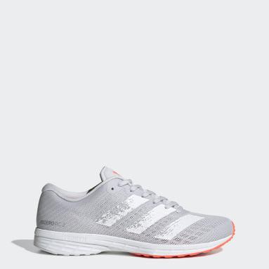 Women Running Grey Adizero RC 2.0 Shoes