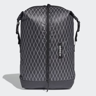 Mochila Premium Essentials Roll-Top Negro Originals