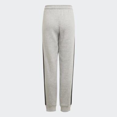 Pantalón adidas Essentials 3 bandas Gris Niño Sportswear