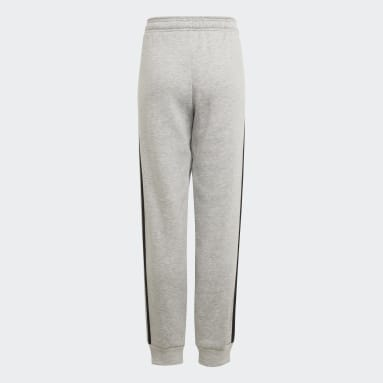 Pantalon adidas Essentials 3-Stripes Gris Garçons Sportswear
