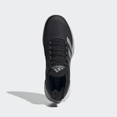 Women's Tennis Black Adizero Ubersonic 4 Tennis Shoes