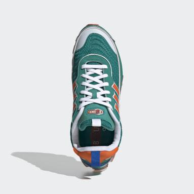 Men Originals Green Microbounce T1 Shoes