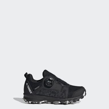 Chaussure de randonnée Terrex Agravic Boa RAIN.RDY Noir Enfants TERREX