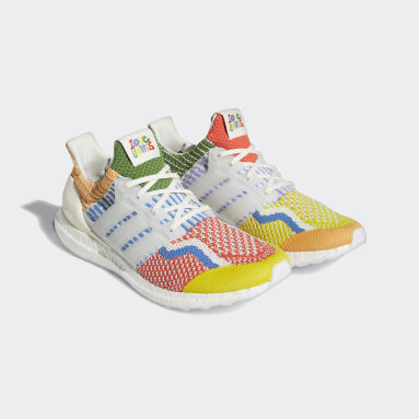 Chaussure Ultraboost 5.0DNA blanc Course