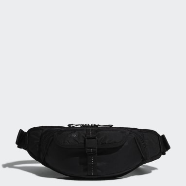 Women Training Black Waist Bag
