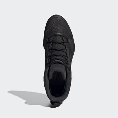 Zapatillas de Senderismo Terrex AX3 GORE-TEX Corte Medio Negro Hombre TERREX