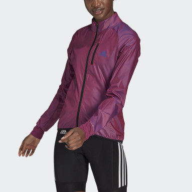 The Cycling Wind Jacket Fioletowy