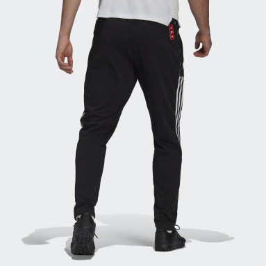 Men Football Black Manchester United CNY Sweat Pants