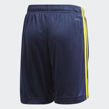 Pantalón corto primera equipación Suecia Azul Niño Fútbol