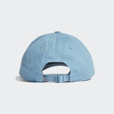Cappellino Baseball Blu Hockey Su Prato