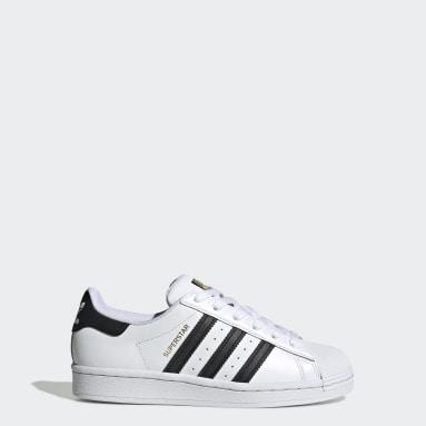 Chaussure Superstar blanc Adolescents Originals