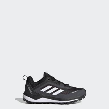 Chaussure de trail running Terrex Agravic Flow Primegreen Noir Enfants TERREX