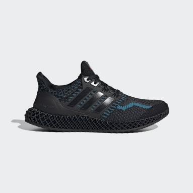 ผู้ชาย วิ่ง สีดำ รองเท้า Ultra 4D 5