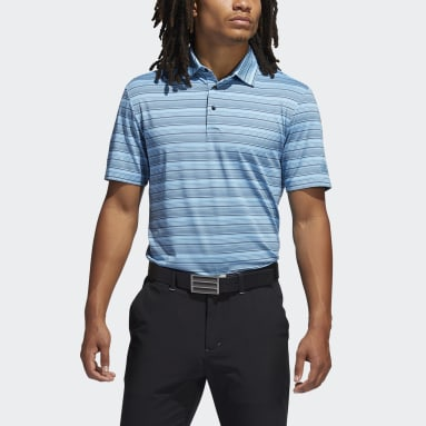 Polo Heather Snap noir Hommes Golf