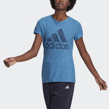 Women Sportswear Blue Must Haves Winners Tee