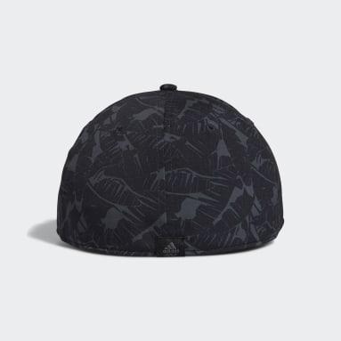 Men's Golf Black Tour Print Hat