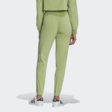 Dames Originals Groen LOUNGEWEAR adidas Slim Joggingpak ​
