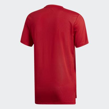 Men Gym & Training Red Condivo 18 Training Jersey