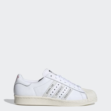 Dam Originals Svart Superstar 80s Human Made Shoes