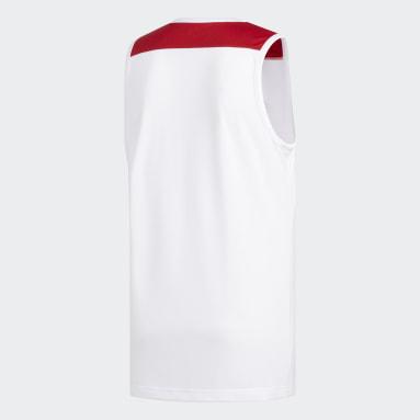 Muži Basketbal bílá Dres Creator 365