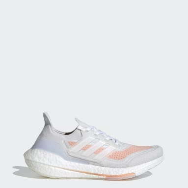 Women's Running White Ultraboost 21 Shoes