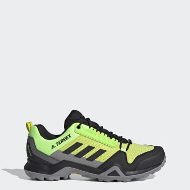 Men TERREX Yellow Terrex AX3 GORE-TEX Hiking Shoes